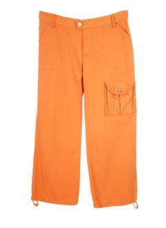 chipie pantacourts femme de couleur orange