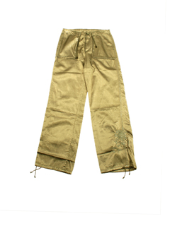 chipie pantalons fille de couleur bronze