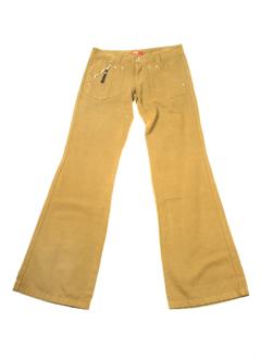 diesel pantalons fille de couleur kaki