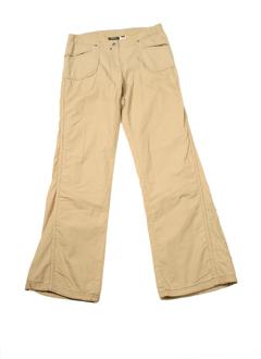 mexx pantalons fille de couleur beige