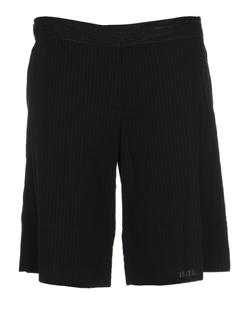 les prairies de paris shorts / bermudas femme de couleur noir