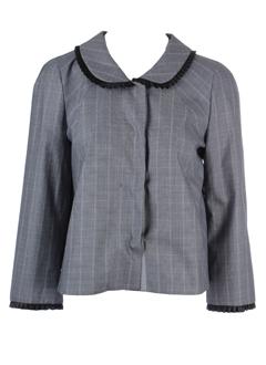 sportmax vestes femme de couleur gris