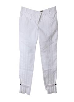 Pantalon casual blanc TOY G pour femme