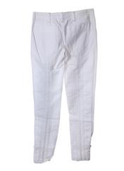 Pantalon casual blanc TOY G pour femme seconde vue