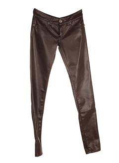 met in jeans pantalons femme de couleur marron clair