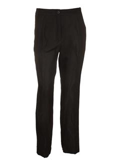 Pantalon casual noir MY PANTS pour femme