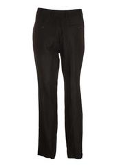 Pantalon casual noir MY PANTS pour femme seconde vue