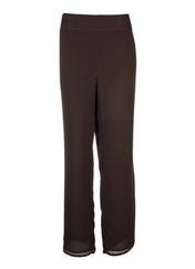 Pantalon chic marron NOMINAL pour femme seconde vue