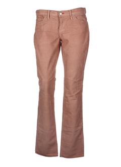 blue cult pantalons femme de couleur marron clair