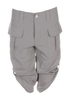 charlie joe shorts / bermudas femme de couleur gris perle