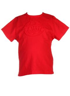 taille 0 t-shirts fille de couleur rouge