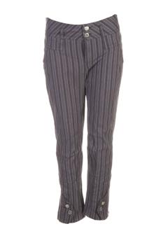one step pantalons femme de couleur anthracite