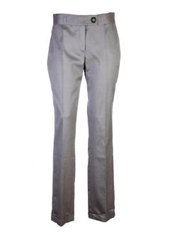 fleur de sel pantalons femme de couleur gris perle