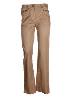 absolu pantalons femme de couleur camel