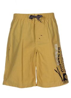 ooxoo maillots de bain garçon de couleur moutarde