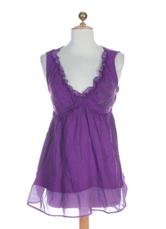 all beautiful chemises femme de couleur violet