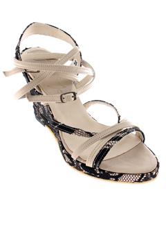 meger chaussures femme de couleur beige
