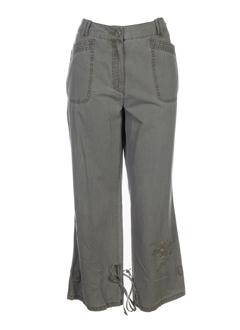 steilmann pantalons femme de couleur kaki