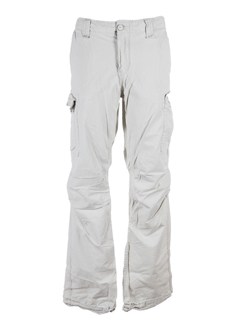 scotch pantalons homme de couleur beige