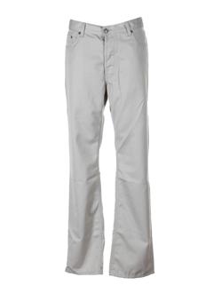 teddy smith pantalons homme de couleur ecru