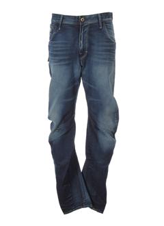 g star jeans homme de couleur bleu marine
