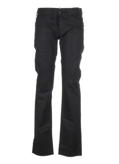 stone aged jeans homme de couleur noir