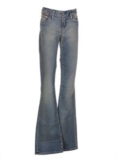 g star jeans femme de couleur bleu ciel