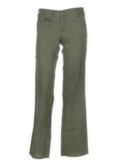 herrlicher pantalons femme de couleur kaki