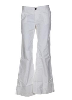 Pantalon casual blanc XX BY MEXX pour femme