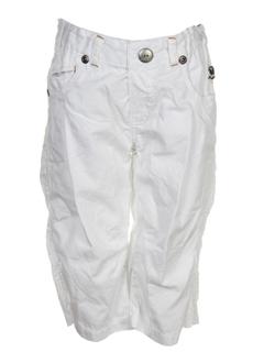 magilla pantacourts garçon de couleur blanc
