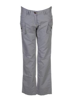 mexx pantalons fille de couleur gris perle
