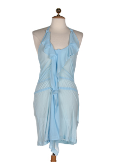 phard robes femme de couleur bleu ciel
