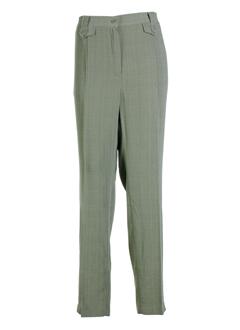 brandtex pantalons femme de couleur kaki