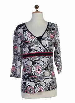 brandtex chemises femme de couleur blanc