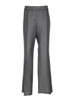 apriori pantalons femme de couleur gris