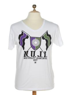 jack EFFI_CHAR_1 jones t-shirts homme de couleur blanc
