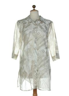 epicea chemises femme de couleur beige
