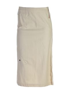 Jupe mi-longue beige GOTCHA pour femme