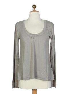 cannisse t-shirts femme de couleur gris perle