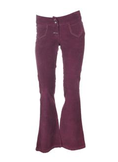gotcha pantalons femme de couleur violine