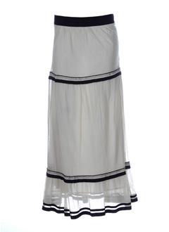 nathalie garcon jupes femme de couleur ivoire
