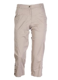 chrismas's pantacourts femme de couleur beige
