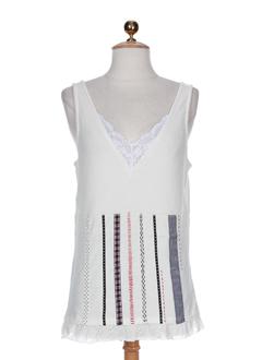 aldo martin's t-shirts / tops femme de couleur ecru