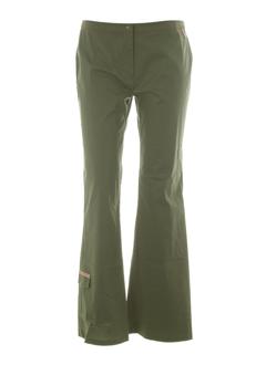 dorotennis pantalons femme de couleur kaki