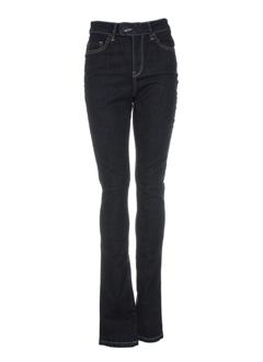 esprit jeans femme de couleur bleu fonce