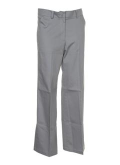 gene pantalons femme de couleur gris