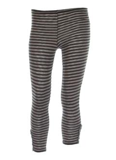double jeu pantalons femme de couleur marron