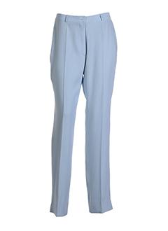 agatha pantalons femme de couleur bleu ciel