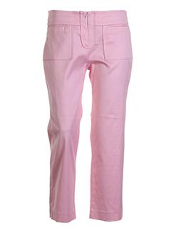 lea et rome pantacourts et decontractes femme de couleur rose