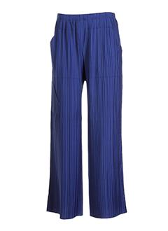 leïko pantalons femme de couleur bleu acier